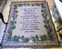 Our Father Sympathy Tapestry