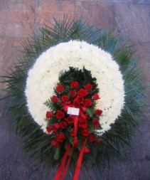 peace and comfort  wreath # 301