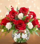 Peace On Earth Holiday Bouquet  Christmas