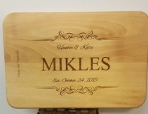 Our Day Cutting Board Gift