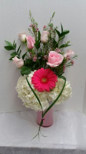 Pink Ambre Mothers Day in Albany, NY | CENTRAL FLORIST