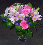 Pink and Purple. Fresh floral in Dallas, TX | MY OBSESSION FLOWERS & GIFTS