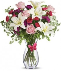 Pink Butterfly Bouquet For Her