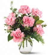 PINK NOTIONS VASE TF-F2