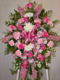 Pink Spray Funeral