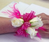 Pink Star Prom Corsage