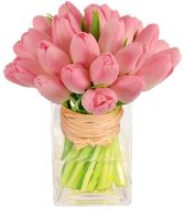 PLEASANTLY PINK TULIP BOUQUET in Clarksburg, MD | GENE'S FLORIST & GIFT BASKETS