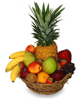 PREMIUM FRUIT BASKET Gift Basket in San Leandro, CA | SAN LEANDRO BANCROFT FLORIST & LYNN'S FLORAL
