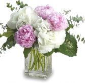 PRETTY IN PEONY BOUQUET in Rockville, MD | ROCKVILLE FLORIST & GIFT BASKETS