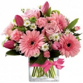 Pretty in Pink Spring Flowers