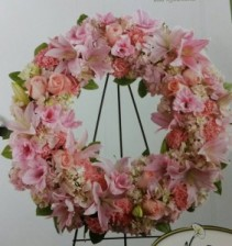 Pretty Pink Thoughts Wreath