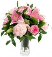 PRETTY PINKS BOUQUET in Rockville, MD | ROCKVILLE FLORIST & GIFT BASKETS