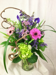 Pretty! Vased Arrangement in Brattleboro, VT | WINDHAM FLOWERS