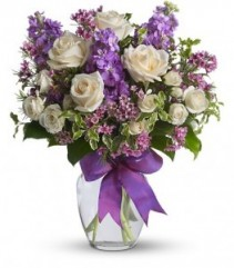 Purple Rain Vase Arrangement