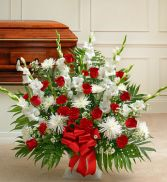 Traditions Funeral Basket Select Colors