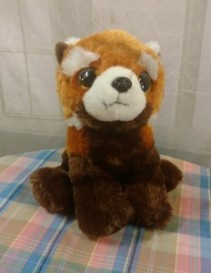 Red Fox Plush  Animal 8 3/4 inches tall