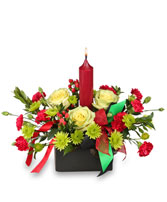 UNITY & TRADITION CENTERPIECE in Huntington, IN | Town & Country Flowers Gifts