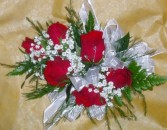 Red Rose Corsage Prom Corsage