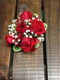 Red Rose Wrist Corsage Corsage