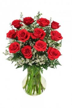 Red Roses Arrangement in Rensselaer, IN | JORDAN'S