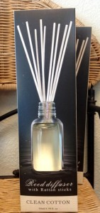 REED DIFFUSER Clean Linen Scent