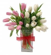 Treasured Romance Tulip Arrangement