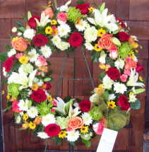 Roses and more wreath wreath
