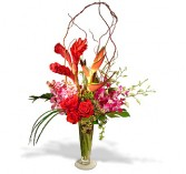 Roses and Tropicals Bouquet by Enchanted Florist of Cape Coral