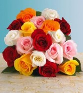 12 Mix Roses Arranged In Box