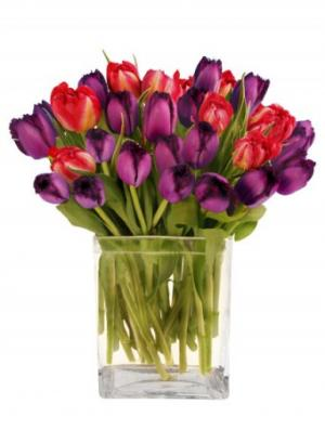 Royal Amethyst Arrangement in Woodbridge, ON | PRIMAVERA FLOWERS & MORE