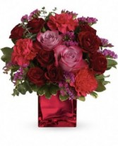 Ruby Rapture Bouquet Valentines Arrangement