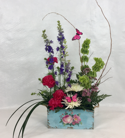 Rustic Garden Arrangement