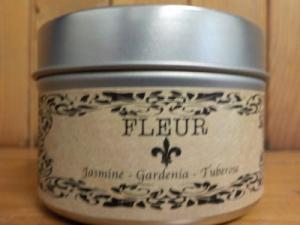 Salt Spring Island Candle 4 oz Candle in a Tin in Abbotsford, BC | BUCKETS FRESH FLOWER MARKET