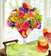 Sangria  fresh flowers in Bowerston, OH | LADY OF THE LAKE FLORAL & GIFTS