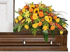 SEASONAL REFLECTIONS Funeral Flowers in Pearl, MS | AMY'S HOUSE OF FLOWERS INC.