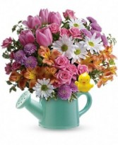Send a Hug Tweet Bouquet Frresh Flowers for Baby
