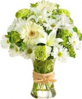 SERENE GREEN BOUQUET in Clarksburg, MD | GENE'S FLORIST & GIFT BASKETS