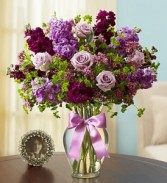 Shades of Purple by Enchanted Florist