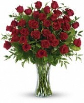 Simply Gorgeous! 3 Dozen Red Premium Roses