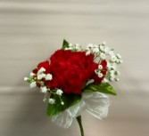 Single standard carnation corsage