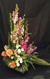 Slate style mixed bouquet