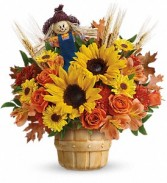 Smiling Scarecrow Bouquet Fall