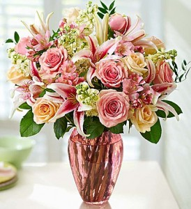 Softly, Gently Beautiful Medly of Pastel Blooms