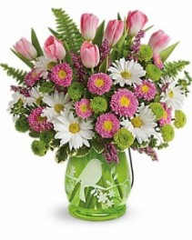 Songs of Spring Bouquet Teleflora - It's a Lantern!!  2 Gifts in 1
