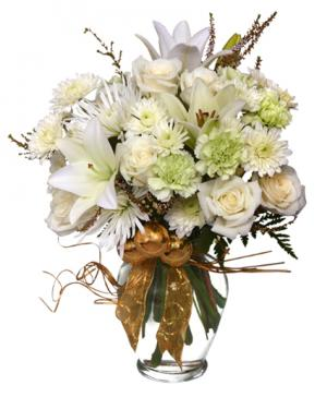 SPARKLING WINTER JOY Flower Arrangement in New Milford, CT | RUTH CHASE FLOWERS