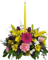 SPRING  CENTERPIECE in Rockville, MD | ROCKVILLE FLORIST & GIFT BASKETS