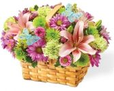 SPRING INSPIRATION BASKET in Rockville, MD | ROCKVILLE FLORIST & GIFT BASKETS