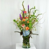 Spring mix of our freshest flowers Mixed Large Vase
