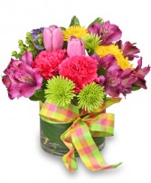 SPRING ZING! Bouquet in Worthington, OH | UP-TOWNE FLOWERS & GIFT SHOPPE