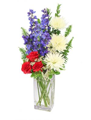 Star-Spangled Style Bouquet in Wellington, CO | WELLINGTON FLOWERS and MORE
